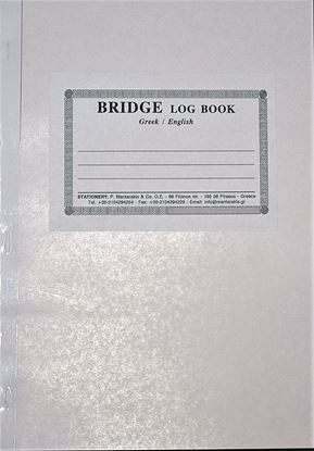 Picture of BRIDGE LOG BOOK FOR YACHTS