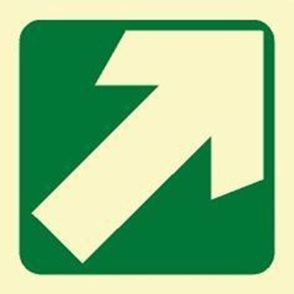 Picture of ARROW DIAGONAL SIGN 15X15