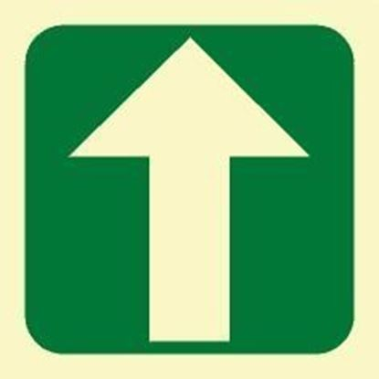 Picture of ARROW STRAIGHT SIGN 15X15
