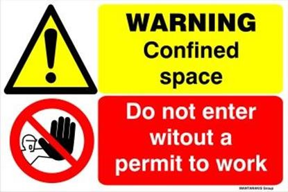 Picture of DANGER CONFINED SPACE