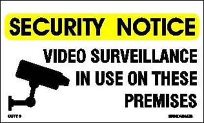 Picture of VIDEO SURVEILLANCE IN USE....