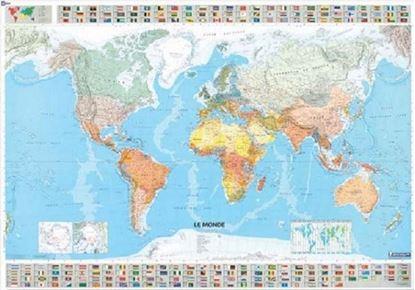 Εικόνα της Χάρτης Παγκόσμιος Michelin 1m x 1.44m ref 12701 Χάρτινος Ρολό
