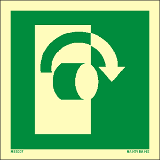 Picture of Turn clockwise to open 15 x 15