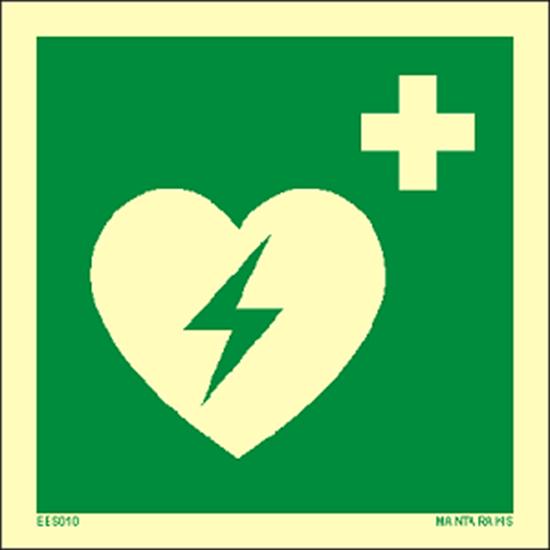Εικόνα από Automated external heart defibrillator 15 x 15