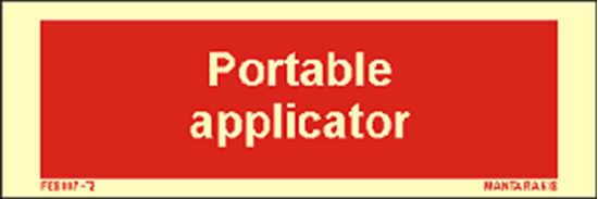 Εικόνα από Text Portable Applicator 5 x 15