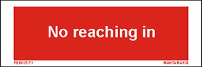 Εικόνα της Text no reaching in  5 x 15