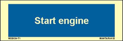 Εικόνα της Text start engine 5 x 15