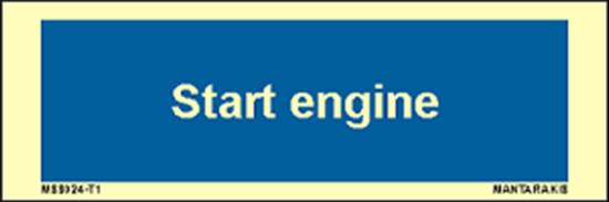 Εικόνα από Text start engine 5 x 15
