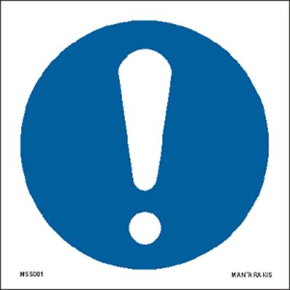 Εικόνα της General mandatory action sign 15 x 15