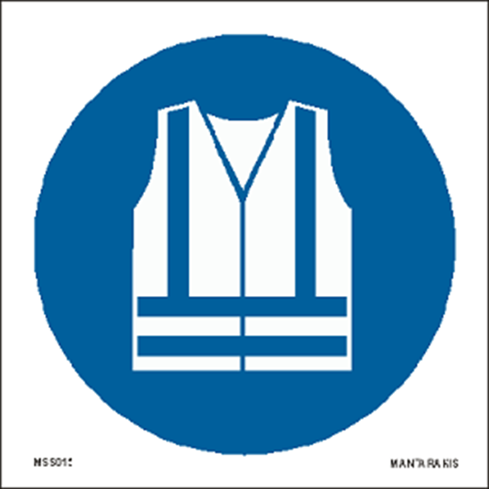 Picture of Wear high visibility clothing 15 x 15