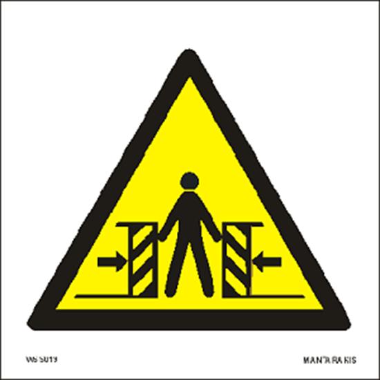 Picture of Warning Crushing 15 x 15