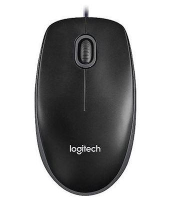 Εικόνα της Ποντίκι με καλώδιο Logitech B100