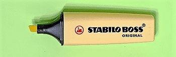Εικόνα από Stabilo Boss 70, σε παστέλ αποχρώσεις