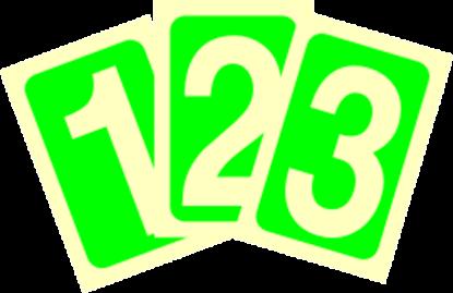 Εικόνα της Σήμα Αυτοφωτιζόμενο 30x15 Νο 0-9