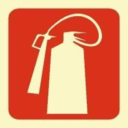 Picture of FIRE EXTINGUISHER SIGN 15X15