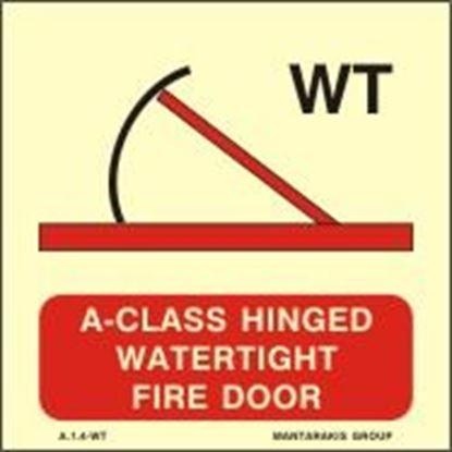 Εικόνα της A-CLASS HINGED WATERTIGHT FIRE DOOR 15X15
