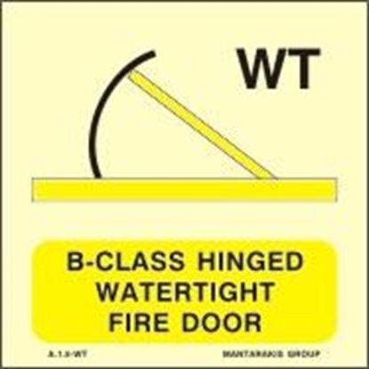 Εικόνα της B-CLASS HINGED WATERTIGHT FIRE DOOR 15X15