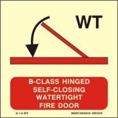 Εικόνα της A-CLASS HINGED SELF-CLOSING WATERTIGHT FIRE DOOR 15X15