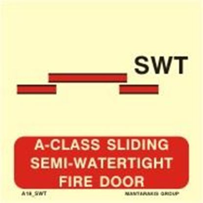Εικόνα της A-CLASS SLIDING SEMI-WATERTIGHT FIRE DOOR 15X15