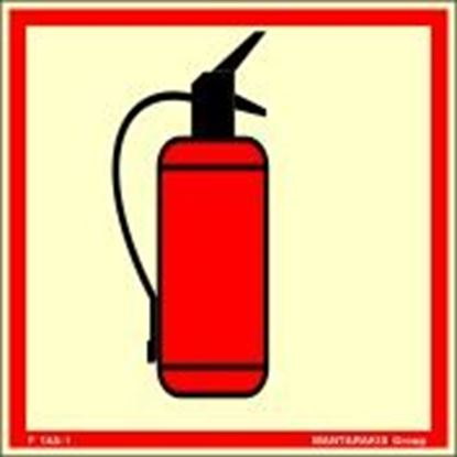 Picture of PORTABLE FIRE EXTINGUISHER 15X15