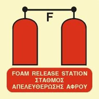 Εικόνα της FOAM RELEASE STATION SIGN 15x15