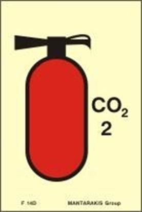 Picture of FIRE EXTINGUISHER C02 5 KGS 15X10
