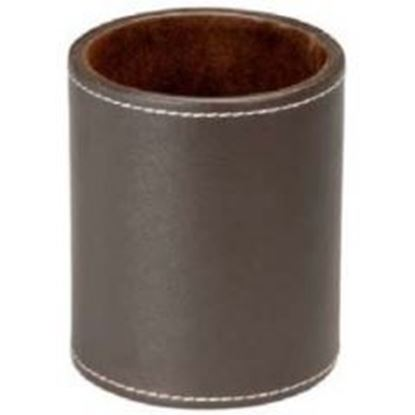 Picture of Leather Office Pencil Holder
