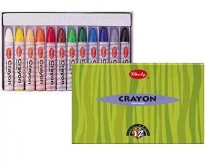 Picture of LIBERTY Crayons 12 pcs.