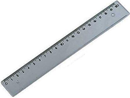 Εικόνα της Χάρακας Μεταλλικός ( 20cm, 30cm, 40cm, 50cm, 60cm, 1m )