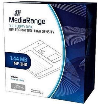 Picture of Floppy disk MEDIARANGE 1,44MV 10pcs.