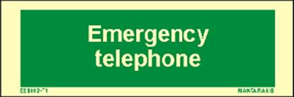 Εικόνα της Text Emergency Telephone 5 x 15