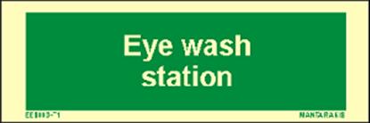 Εικόνα της Text Eye Wash Station 5 x 15