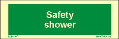 Εικόνα της Text Safety Shower 5 x 15