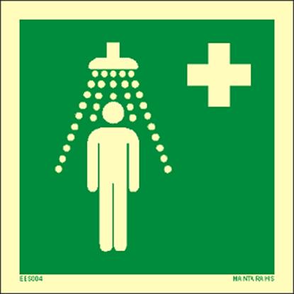Εικόνα της Safety shower 15 x 15