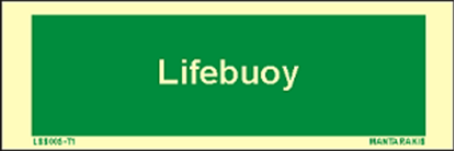 Picture of Text Lifebuoy 5 x 15