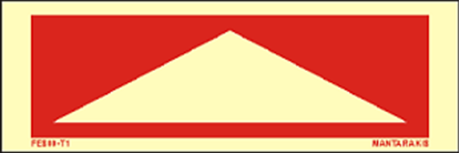 Picture of Arrow red Up- Down 15 x 5