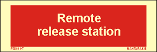 Picture of Text Remote Release Station 5 x 15