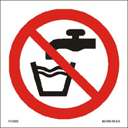 Εικόνα της Not drinking water 15 x 15