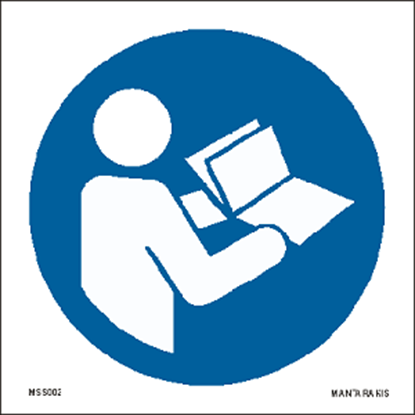 Picture of Refer to instruction manual/booklet 15 x 15