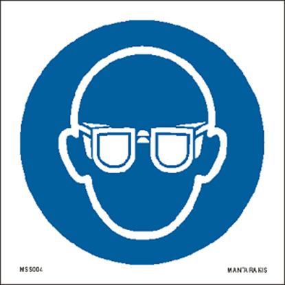 Picture of Wear eye protection 15 x 15