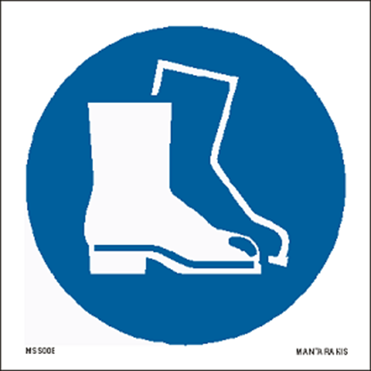 Picture of Wear safety footwear 15 x 15