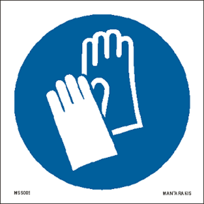Picture of Wear protective gloves 15 x 15