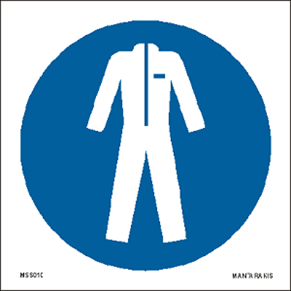 Picture of Wear protective clothing 15 x 15
