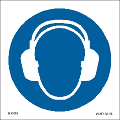 Picture of Wear ear protection 15 x 15