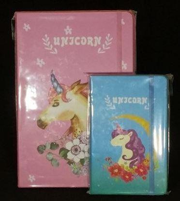 """Εικόνα της Σημειωματάριο με """"Unicorn"""" A5 και Α6"""