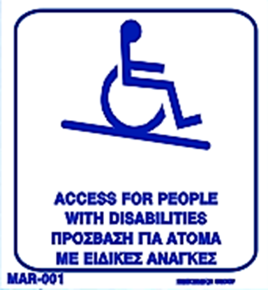 Picture of ACCESS FOR PEOPLE WITH DISABILITIES 20X20