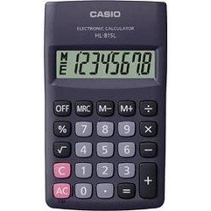 Εικόνα της Αριθμομηχανή Casio HL-815 BK