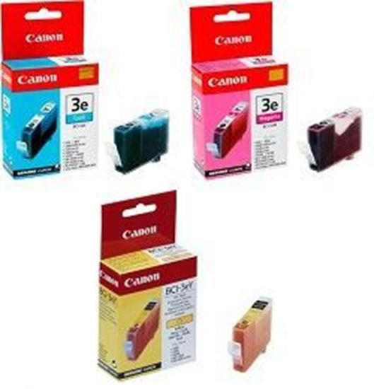 Picture of Canon 3e Yellow-Magenda-Cyan