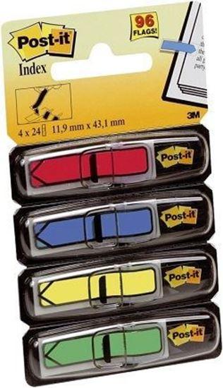 Εικόνα από Σελιδοδείκτες Χρωματιστοί 3Μ 11.9 mm x 43.1 mm