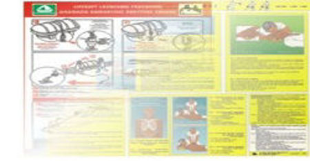 Picture for category Maritime Instruction Safety & Resque boards
